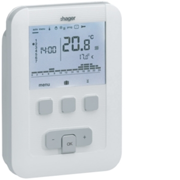 Εικόνα της Θερμοστάτης Ψηφιακός Προγραμματιζόμενος Evolution 230V Hager