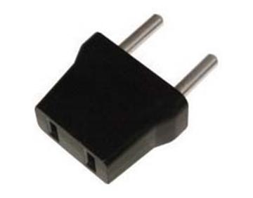 Εικόνα της Adaptor Ρευματος 220V/110V Μαυρο Ac-7220 Uni