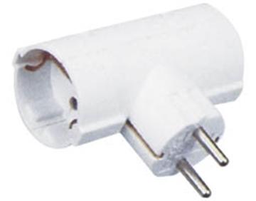 Εικόνα της Adaptor Σουκο Σε 2 Σουκο Τυπου(Τ) Ασφαλειας Odl-152 Hgi
