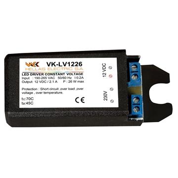 Εικόνα της VK-LV1226 LED DRIVER 12V 26W M/S