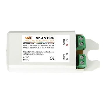 Εικόνα της VK-LV1236 LED DRIVER 12V 36W  M/S