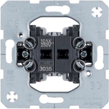 Εικόνα της Berker Διακόπτης Κομμυτατέρ 10Ax 250V~ Hager