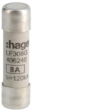 Εικόνα της Φυσίγγι 10,3X38 8Α Ταχείας Τήξεως Hager LF308G