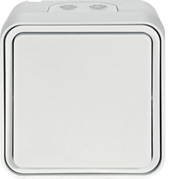 Εικόνα της Cubyko A/R Επίτοιχος IP55 Λευκό Hager