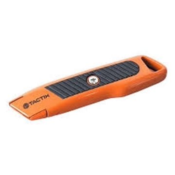 Εικόνα της tactix μαχαιρι μοκετ 155mm ασφαλ αλουμιν με τραπεζοειδη λαμα