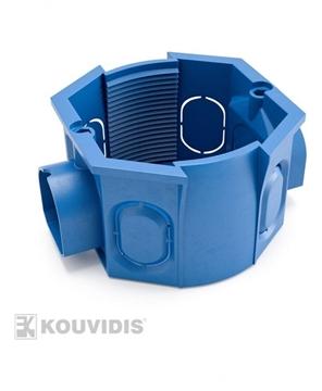 Εικόνα της Κουτι Διακοπτου Ενιαιου Πλαισιου Κουτι Μπλε Ral 5019