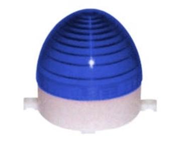 Εικόνα της Φαροσ Strobe Led (80X86Mm) 12Vdc Μπλε C-3072 Cntd