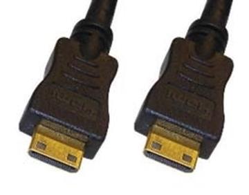 Εικόνα της ΚΑΛΩΔΙΟ HDMI-HDMI 1.3 ΕΠΙΧΡ.ΕΠ.BC ΜΙΝΙ/ΜΙΝΙ ΜΑΥΡΟ 1.8m COMP