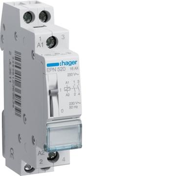 Εικόνα της Ρελέ Τηλεχειριζόμενο 230V Ac/110V Dc, 2Nο Hager