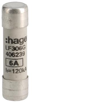Εικόνα της Φυσίγγι 10,3X38 6Α Ταχείας Τήξεως Hager LF306G
