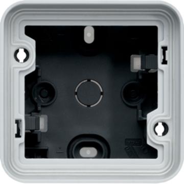 Εικόνα της Cubyko Κουτί Επίτοιχο IP55 Γκρι Hager