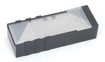 Εικόνα της tactix λαμες μαχαιριων τραπεζοειδεις σετ 10τμχ