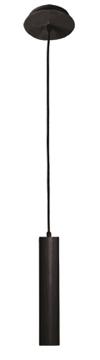Εικόνα της Kρεμαστό Μονόφωτο Φωτιστικό Μαύρο GU10 50W Lesante 4144301 Viokef