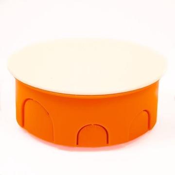 Εικόνα της Καπάκια Κουτιών Διακλαδώσεων Στρογγυλά ΝΤ Λευκά 09-21001-001 Courbi