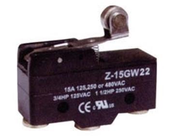 Εικόνα της Τερματικος Διακοπτης 15A 125/250Vac Z-15Gw22-B(1704) C