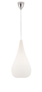 Εικόνα της Φωτιστικό Μονόφωτο Κρεμαστό 1X60W E27 D210 Opal Drop Viokef