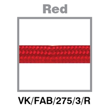 Εικόνα της ΚΑΛ.ΥΦΑΣ.ΣΤΡΟΓΓΥΛΟ 2Χ0.75mm 3m ΚΟΚΚΙΝΟ VK/FAB/275/3/R