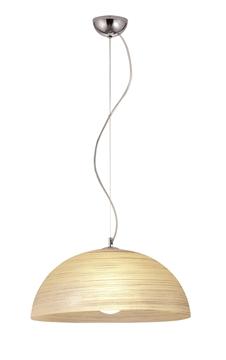 Εικόνα της Κρεμαδτό Μονόφωτο Φωτιστικό Μελί E27 70W Modesto 3068101 Viokef