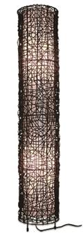 Εικόνα της Φωτιστικό δαπέδου 2X28W E27 Bamboo Viokef
