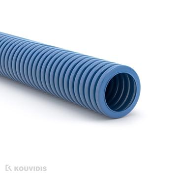 Εικόνα της Διαμορφωσιμος Κυματοειδης Σωληνας Superflex Φ16 Μπλε Ral 5019