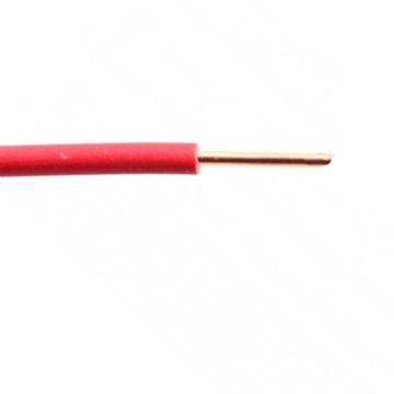 Εικόνα της Καλώδιο NYA H07VU 1X4 Κόκκινο Ρολό
