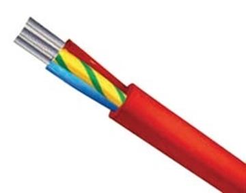 Εικόνα της Καλωδιο Σιλικονης 3X0.75Mm² Πολυκλωνο Επικασσιτερομενo Κοκκινο Sgl