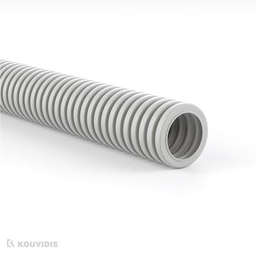 Εικόνα της Διαμορφωσιμος Κυματοειδης  Σωληνας Siflex Φ20 Ανοικτο Γκρι Ral 7