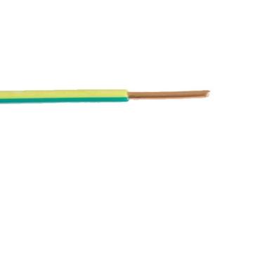 Εικόνα της Καλώδιο NYA H05VU 1X1 Κίτρινο Ρολό