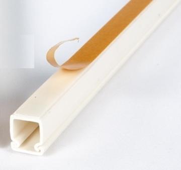 Εικόνα της Κανάλια Διανομής Καλωδίων - Αυτοκόλλητα 25X16mm Λευκό
