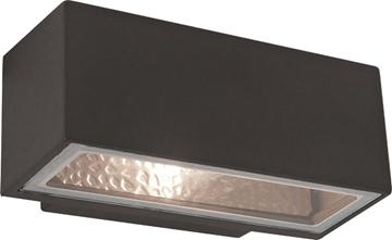 Εικόνα της Φωτιστικό Απλίκα Ανθρακί 1X60W E27 IP44 Sq Rhodes Viokef