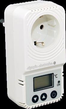Εικόνα της Bs-824 Ηλεκτρονικός Θερμοστάτης Χώρου Πρίζας Με Έξοδο 230V 16A