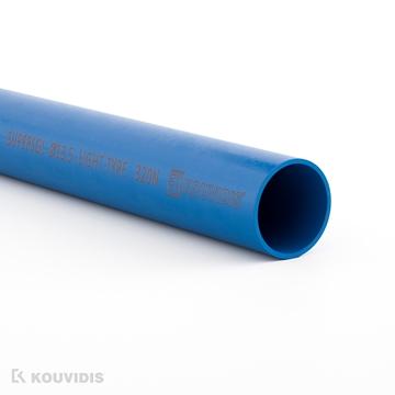 Εικόνα της Ακαμπτος Ευθυγραμμος Σωληνας Supersol Φ29 Μπλε Ral 5019