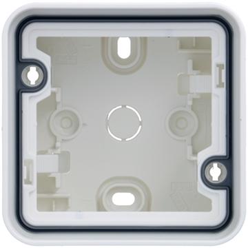 Εικόνα της Cubyko Κουτί Επίτοιχο IP55 Λευκό Hager