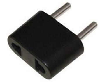Εικόνα της Adaptor Ρευματος 220V/110V-220V Μαυρο Ac-7225 Uni