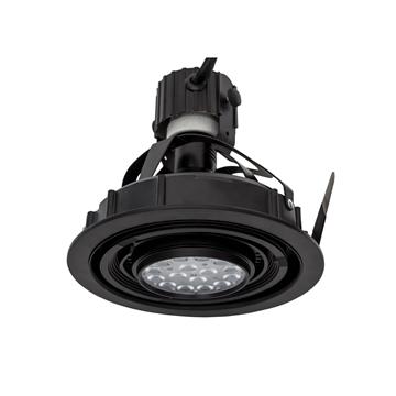 Εικόνα της Σποτ Οροφης Χωνευτο Μαυρο 230V 40W/E27 Par30 Vk/03017/B VK Lighting 64174-005123