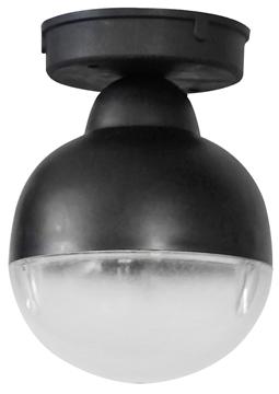 Εικόνα της C-010Ce Black 1/Φ Οροφησ Σφαιρακι Πλαστ