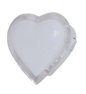 Εικόνα της Φωτάκι Νυκτός Καρδιά Σώμα Λευκό Led μπλε Vito