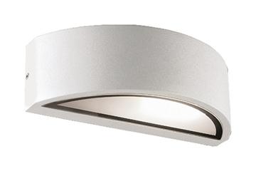 Εικόνα της Φωτιστικό Απλίκα Λευκή E27 26W CFL/LED IP 44 W Rhodes Viokef