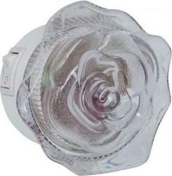 Εικόνα της Φωτάκι Νυκτός Τριαντάφυλλο Σώμα Λευκό Led Λευκό Vito