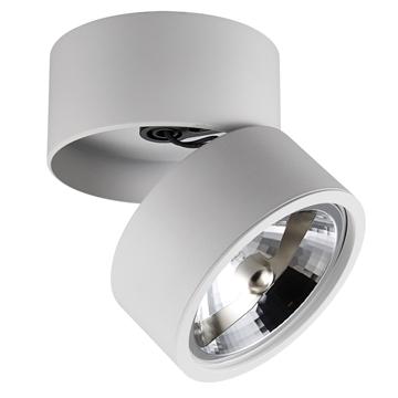 Εικόνα της Σποτ Αλουμ.Οροφης Ip20 Ar111 Λευκο Vk/03097Ce/W VK Lighting 64174-016108