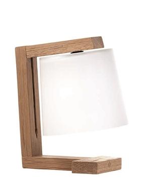 Εικόνα της Φωτιστικό Πορτατίφ Ξύλινο 42W E14 Mondo 3081700 Viokef