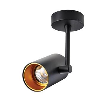 Εικόνα της Σποτ Αλουμινίου Οροφής GU10 35W μαύρο/χρυσό 98x200mm VK/03094CE/BGD VK Lighting 64174-011108