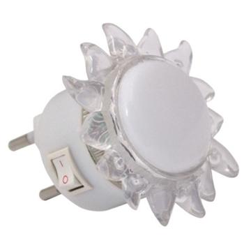 Εικόνα της Φωτάκι Νυκτός Ήλιος Σώμα Λευκό Led Λευκό Vito