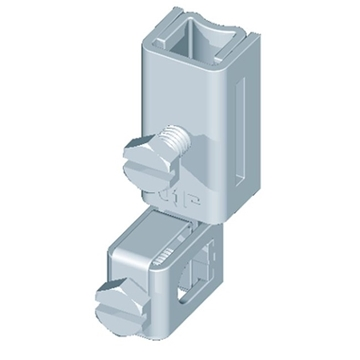 Εικόνα της Διπλός σύνδεσμος ρυθμιζόμενου περιλαίμιου 2x50mm2 maxV2A