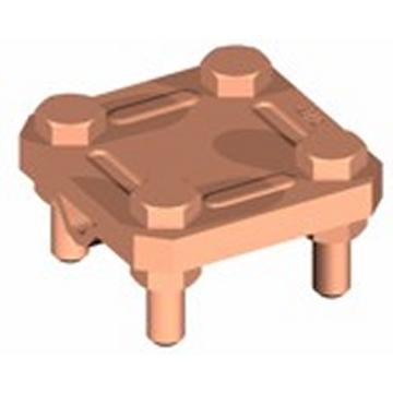 Εικόνα της Διασταυρωτήρας Φ8-10/ταινίας 40mm St/tZn 3 πλακών (70x70x3)mm