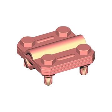 Εικόνα της Σφικτήρας διασταυρώσεως  Cu αγωγού Φ8-10/αγωγού Φ8-10 διαστάσεων