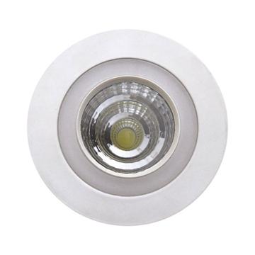 Εικόνα της ΧΩΝΕΥΤΟ LED ΣΤΡΟΓΓΥΛΟ 6  WATT SMD -COB  ΛΕΥΚΟ