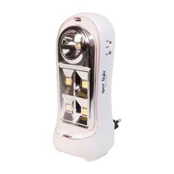 Εικόνα της Φωτιστικό Ασφαλείας - Νυκτός LED 2W IP20 6000K Spotlight 5276