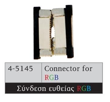 Εικόνα της CONNECTOR ΓΙΑ RGB ΤΑΙΝΙΑ 7,2W