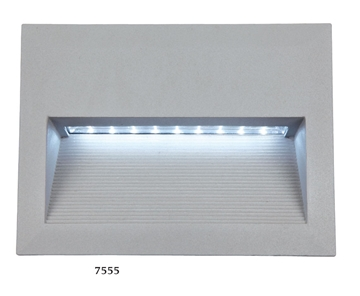Εικόνα της LED ΧΩΝΕΥΤΟ ΠΑΡΑΛ/ΜΟ ΤΟΙΧΟΥ 2,7W ΑΣΗΜΙ